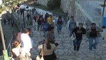 Peligrenazh drejt kishës së Shna Ndout,besimtarët nisin marshimin drejt vendit të shenjtë