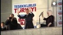 Turqi, Erdogan fiton zgjedhjet. Ka fituar 44%-46% të votave përballë opozitës