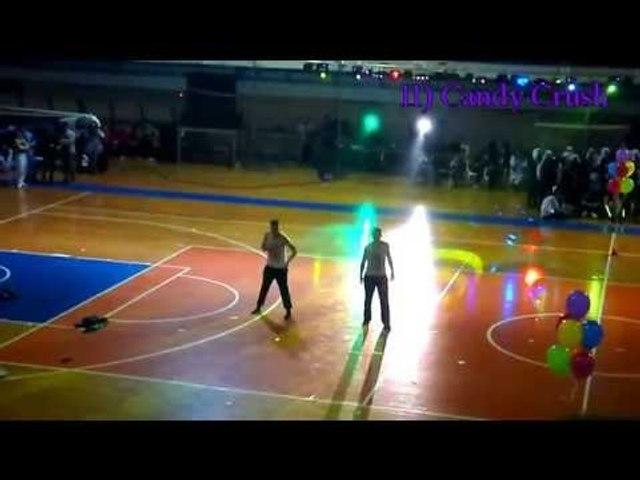Robot dance in Lamia Stadium (Sergio-Jovan)