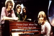 """Chicken Shack""""When The Train Comes Back""""Live 1970 at Uxbride West London Brunel University"""