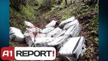 A1 Report - Delvine, kapen 700 kg kanabis ndersa trafikantet arratisen