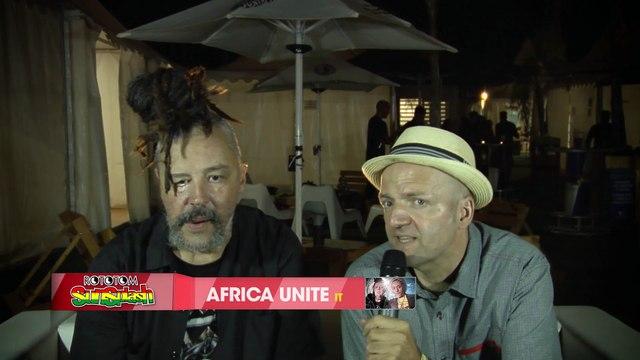 AFRICA UNITE interview @ Rototom Sunsplash 2015