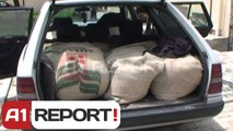 A1 Report - Kukes, kapen 840 kg kafe kontrabande, vinte nga Kosova