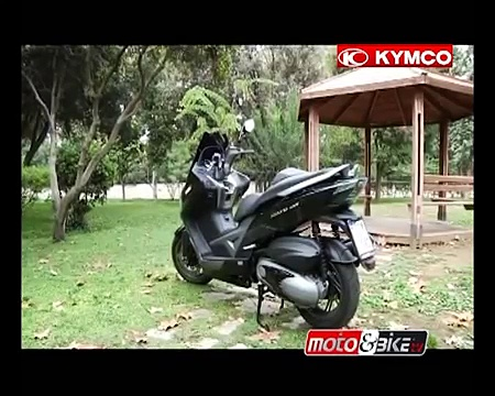 KYMCO XCITING 400 test-ride