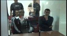 Korçë, nis seanca për 4 të arratisurit e burgut të Drenovës, s'paraqiten në gjyq