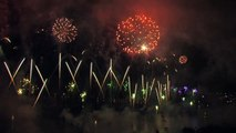 HD  Fête du lac 2013 - bouquet final -  Annecy, France - Luso Pirotecnia - feu artifice - fireworks