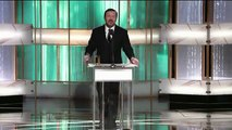 Golden Globes 2011 - Ricky Gervais Opening Monologue (sous-titres français)