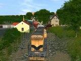 Trainz Railroad Simulator 2004 - vlečka do Kladenských hutí podruhé - 80.tá léta