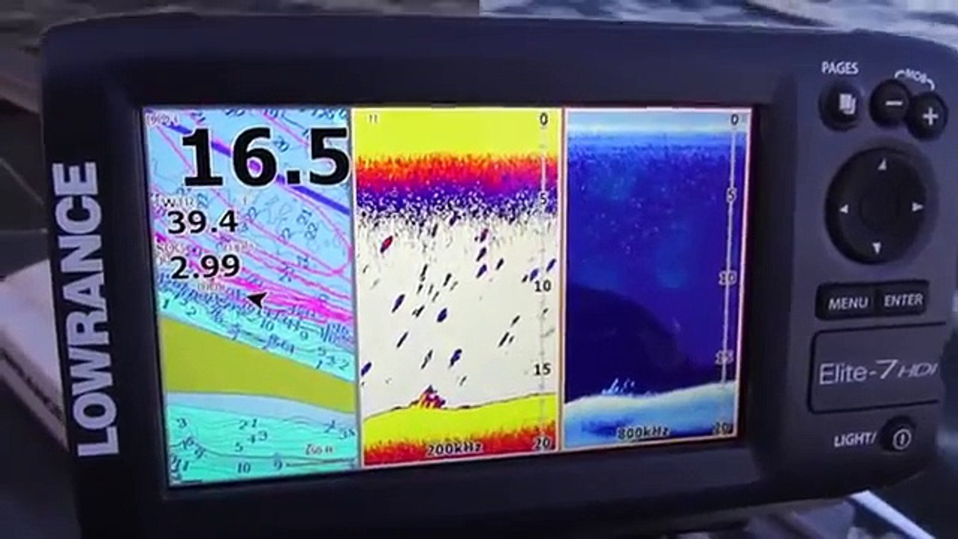 Lowrance Elite-7 HDI Overview