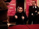 JUAN DIEGO FLOREZ INTERVIEW  (teatro verdi salerno) 8-12-2008