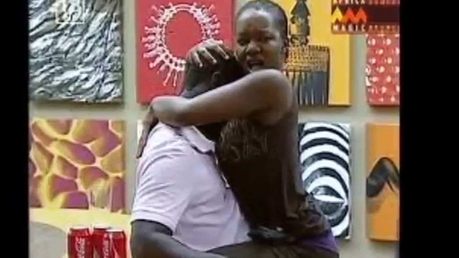 Big brother africa shower hour meryl