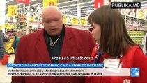Cazacii din Sankt Petersburg s-au apucat de treabă. Cum caută produse interzise prin magazine