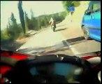 Ducati 1098 on board salita Abbadia San Salvatore
