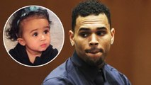 Chris Brown CRIES For Daughter Royalty