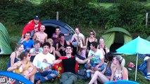 Au camping du Cubi de rosé, les festivaliers sont prêts !