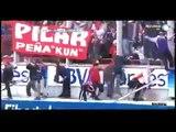 Lamentables incidentes generados por los fanáticos de Independiente en el Monumental AELH