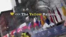 Who is woman with YELLOW BALLOONS? Boston Marathon 2013 #yellowballoons