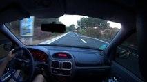 "Ma pauvre petite CLIO 2 RS1 vs 1 ""GT allemande"" - My poor little CLIO 2 RS1 vs a ""German GT"""