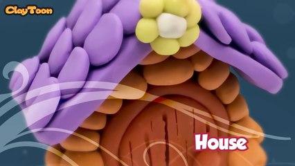 House, Polymer clay tutorial   بيت , تشكيل صلصال