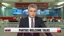 S. Korea's rival political parties express hope Panmunjom talks will bear fruit