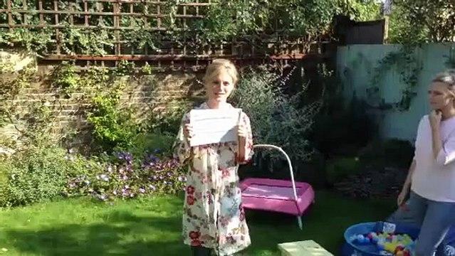 Emilia Fox Ice Bucket Challenge