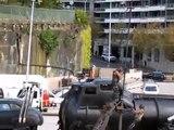 Mad Max: Fury Road Sydney Promo Stunt at Opera House Sydney