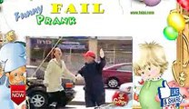 Funny Crushed By Steel Beam Prank ce3cggGGGrs
