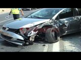 Aksident në Lezhë- Balldre, përplasen dy makina , 6 të plagosur- Ora News- Lajmi i fundit-