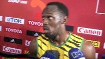 Athlé - ChM - 100m : Bolt «Etre détendu»