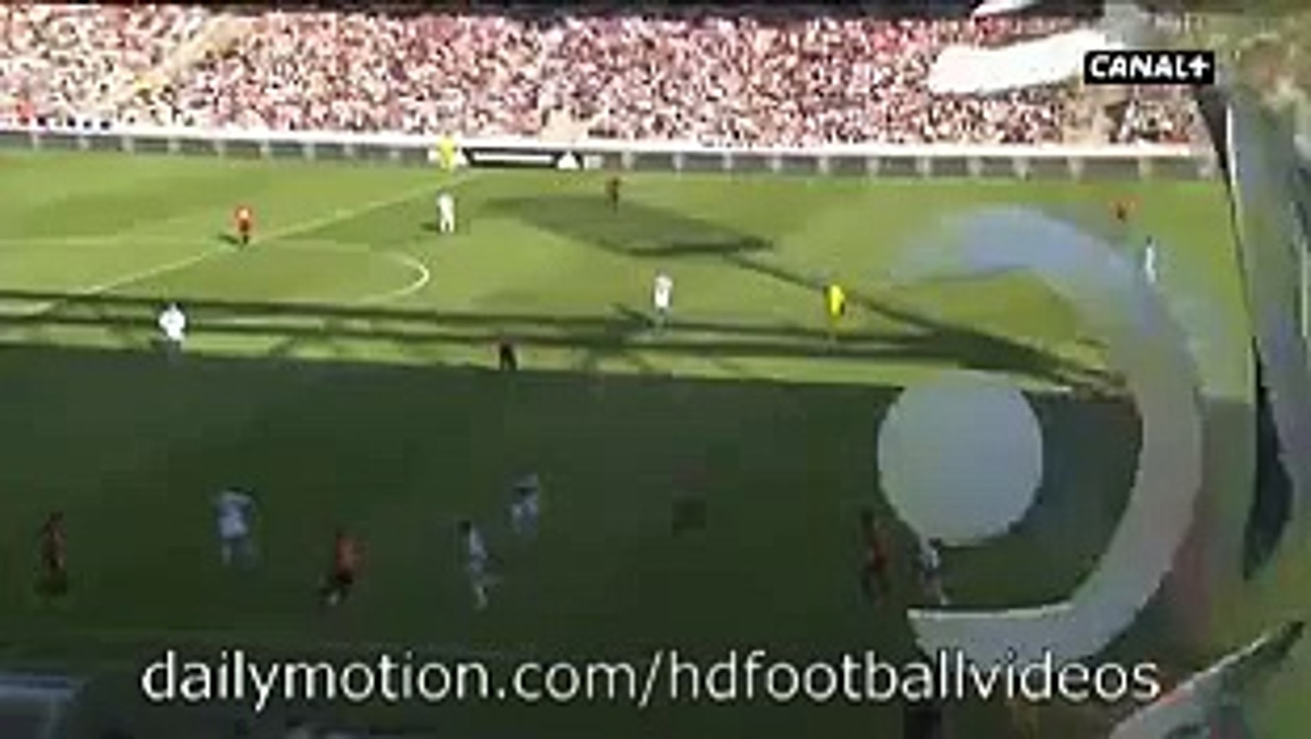 Mehdi Zefane 1:2 GOAL HD | Lyon vs Rennes - Ligue1 22.08.2015 HD