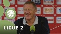 Conférence de presse Stade Brestois 29 - AC Ajaccio (1-0) : Alex  DUPONT (BREST) - Olivier PANTALONI (ACA) - 2015/2016