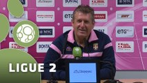 Conférence de presse Evian TG FC - Chamois Niortais (0-0) : Safet SUSIC (EVIAN) - Régis BROUARD (CNFC) - 2015/2016