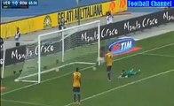 1-1 Alessandro Florenzi Amazing Goal | Hellas Verona v. As Roma