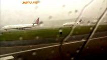 Un avion foudroyé sur le tarmac de l'aéroport d'Atlanta