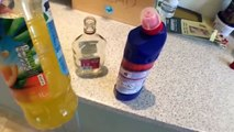 Funny Pranks Ben Phillips 2015 - Bleach Drinking Prank (Bleach Juice)