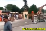 Once again Indian Soldier Falls during Parade at Wagha Border On 14 August