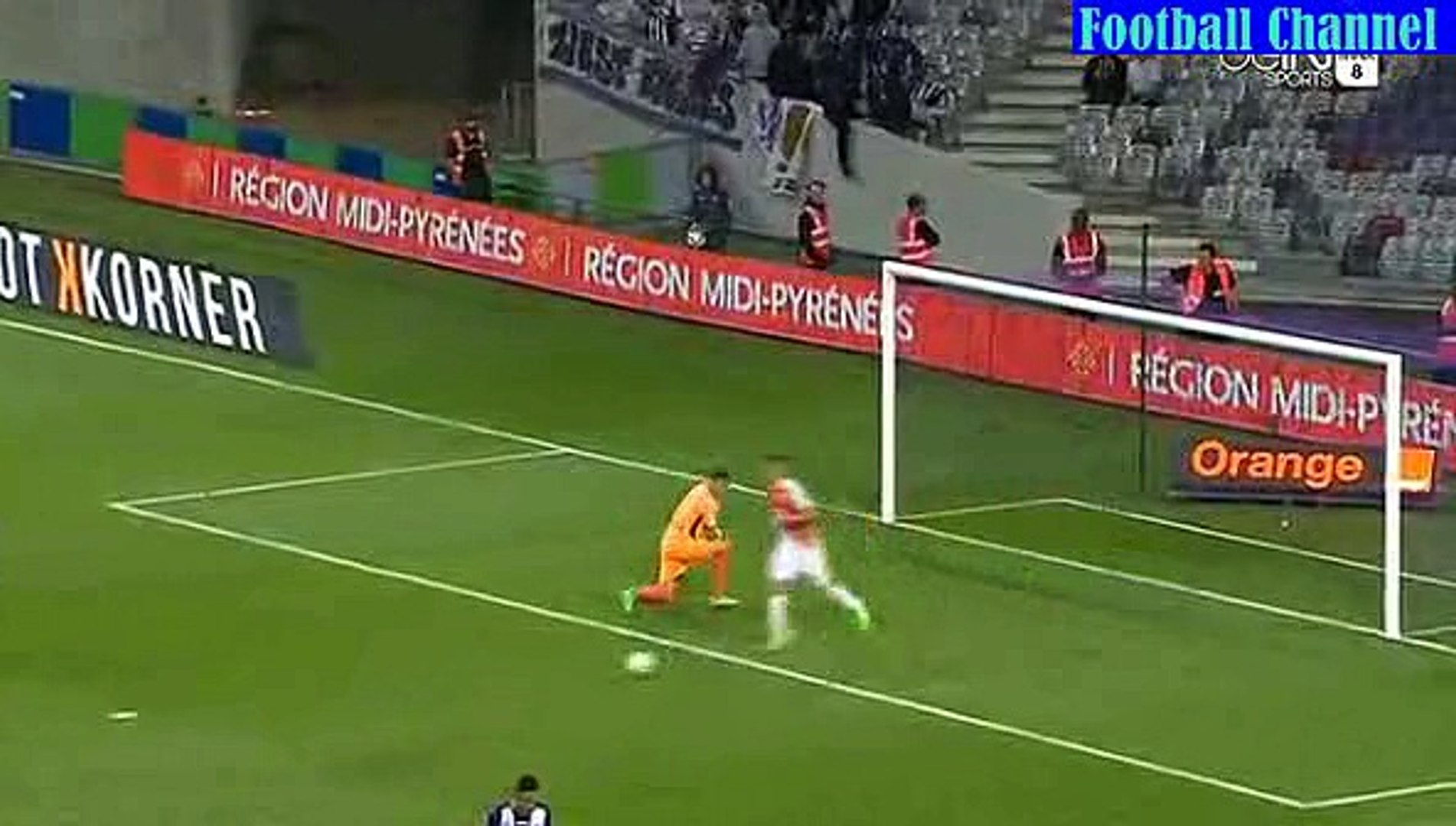 Goal Thomas Lenar - Toulouse vs AS Monaco 1-1 *22.08.2015 ligue1