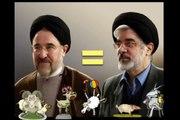 دوم خرداد ورزشگاه آزادی موسوی و خاتمی khatami va mousavi
