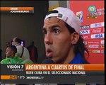 Visión Siete: Argentina en cuartos de final