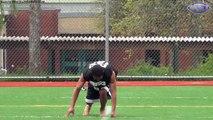 Tatum Taylor runs 4.21 40-yard-dash and Interview