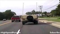 South Carolina High Speed Police Chase Stolen Armored Hummer / Humvee - Jade Helm 15