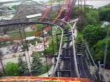 Six Flags Chicago, The Demon Rollercoaster with Jared Bradshaw