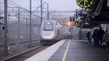 Two times TGV Duplex at TGV Haute-Picardie! [HD]