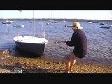 Wayfarer dinghy sailing, Menorca