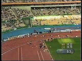 1999 - Maurice Greene 19.80 - 200m - World Champ. Seville