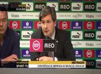 Conferencia de Imprensa -Sporting Bruno Carvalho 13/14