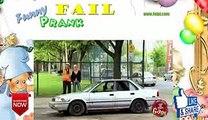 Funny Car Crushed In a Cube Prank tFWG43smRqY