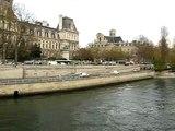A View of Paris, The Seine, Ile de la Cité and Ile Saint-Louis from Pont d'Arcole