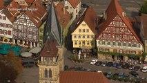 Luftportrait Esslingen am Neckar