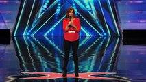 Jodi Miller Female Comedian Explains How Guys are Like Cats America's Got Talent 2014